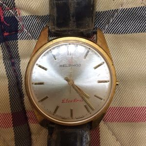Vintage Helbros Electric West Germany watch